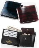 SILVANO BIAGINI/シルバーノ ビアジーニ イタリア製マキアートレザー二つ折り財布 69267