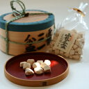 和三盆糖【霰三盆】曲物入 300g/お茶請け/砂糖菓子/徳島名産