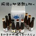 【お歳暮】阿波の地酒街道!飲み比べ純米酒セット【徳島の地酒】