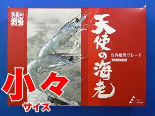 天使の海老 小々サイズ1Kg箱入り(規格:50/60)