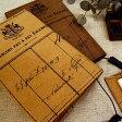 【メール便可能】【東京アンティーク雑貨文具】ジーンズのラベルパッチで作ったボンシック ブックカバー