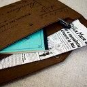 【メール便対象外】【東京アンティーク雑貨文具】ジーンズのラベルパッチで作ったボンシック ファイルケース