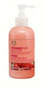 The body shop Strawberry pure body lotion 250 ml fs3gm