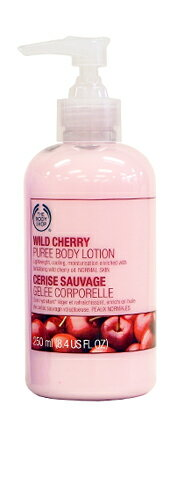 The body shop ワイルドチェリーピューレ body lotion 250 ml fs3gm