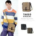 タケオキクチ バッグ TAKEO KIKUCHI クラプトン ショルダーバッグ メンズ ヌメ革 125101【送料無料】