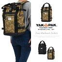 ヤックパック バッグ YAKPAK 男女兼用 通勤 通学 カジュアル トート型リュックサック バックパック メンズ レディース YP3001