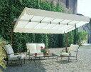 【イタリア・リゾートパラソル】マイアミ・エリーテ・レーニョ/イタリアFIM社製リゾートパラソル!! 注目度抜群のオフホワイト・長方形の大型のパラソルです。期間限定特価キャンペーン対象商品。