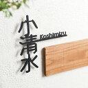 ステンレス製 切り文字表札 kanji01(カンジ01)【アイアン】【表札】【切文字】【おしゃれ】【漢字】