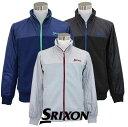 スリクソン ゴルフウェア フルジップ スウェットブルゾン S...