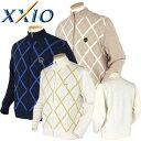 ゼクシオ 長袖ジップセーター 大きいサイズ XMV5622/...