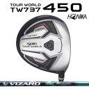 本間ゴルフ ツアーワールド TW737 450 TOUR WORLDTW737 450ドライバー VIZARD EX-A65シャフト