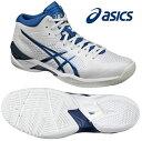 アシックス ゲルバースト 20th (バスケットシューズ) TBF329〈0142:ホワイト×ロイヤルブルー色〉