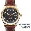 公式 ジャックメイソン 腕時計 JACK MASON NAUTICAL ノーチカル JM-N101-206 メンズ クオーツ レザーベルト 日本製ムーブメント ステンレススチールケース 10気圧防水 ラウンドケース 男性 女性 ギフト 贈り物