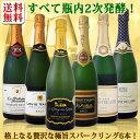 【送料無料】第1弾!ぜんぶクレマン!フランスの高級瓶内2次発酵の伝統製法!クレマンだけの至福なるスパークリング6本!