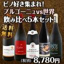 【送料無料】ピノ好き集まれ!ブルゴーニュ&世界のピノ・ノワール飲み比べ!