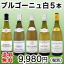 【送料無料】プルミェ・クリュ(一級畑)が2本★厳選ブルゴーニュ白ワイン5本セット!
