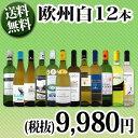 【送料無料】第71弾!超特大感謝!≪スタッフ厳選≫の激得白ワイン12本9,980円(税別)セット!