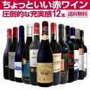 【送料無料】当店オススメばかりを厳選したちょっといい赤ワイン12本セット!