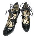 ショッピングVivienne 【中古】Vivienne Westwood / エナメルクラシックギリーシューズ ヴィヴィアンウエストウッド 38 (24cm) 黒 ハイヒール 靴 B33914_2010