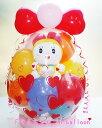 バルーン 母の日 ドラえもん 誕生日 祝電 バルーン電報 1歳 電報 ドラミちゃん in balloon