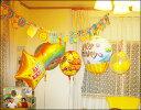 子供が喜ぶ!大人も楽しい!楽しい空間作りに。【送料無料】☆お誕生日会バルーンセット☆