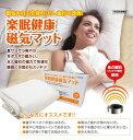 楽天生活良品楽眠健康 磁気マット 永久磁石 フェライト使用 管理医療機器 磁気マット ダブルサイズ