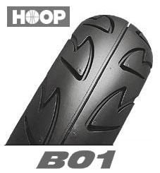 BRIDGESTONE HOOP B01 90/90-10 50J TLブリヂストン・フープ B01・前後輪共用商品番号 SCS60020