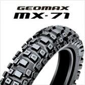 DUNLOP GEOMAX MX71 90/100-16 52M WTダンロップ・MX71・リア用競技専用レーシングタイヤ・ハード路商品番号289565※公道走行不可