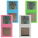 In total temperature-humidity: Digital thermometer, hygrometer [possible an email service:] Postage 240 yen 】 solar temperature-humidity O-223 [ドリテック, temperature management, pet use] in total