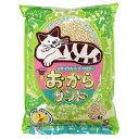 スーパーキャット NEW おからサンド 猫用 6L×4袋入【送料無料】