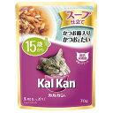 カルカンパウチ15歳から70g×16入◆KWD51/スープ仕立て かつお節入りかつおとたい【送料無料】
