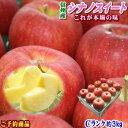【予約】【送料無料】これが本場の味!長野県産 シナノスイート Cランク家庭用約3kg(8-11玉)訳あり(キズ、色ムラなど)濃厚な甘味と香りでジューシーな味わいがクセになる!毎年出荷待ちの大人気りんご♪【ラッキーシール対応】