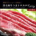 【ギフト】送料無料 黒毛和牛肉 カルビうすぎり 500g す...