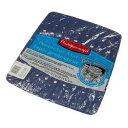 流し用マット。シンクの底に敷いておけば、お皿やコップのクッションになります。ラバーメイド マイクロバン(抗菌加工)シンクマット S Blue Mist
