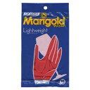 天然素材の丈夫なゴム手袋。肌触りや保湿性にも優れた裏毛付き。マリーゴールド ゴム手袋M