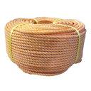 NAKUREPORI18100 【送料無料】 クレポリ混撚ロープ オレンジ ハイクレ 18mm×100m