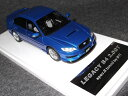 Wit's W697 1/43 LEGACY B4 2.0GT spec.B tuned by STI WRブルー・マイカ