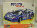 BUGATTI - ブラーゴ 1/18 組み立てキット 7035 BUGATTI EB110 1991