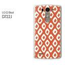 DM便送料無料【UQ mobile LG G3 Beat LG-D722Jケース】[d722j ケース][ケース/カバー/CASE/ケ−ス][アクセサリー/スマホケース/スマートフォン用カバー][和柄(オレンジ)/d722j-pc-new1244]