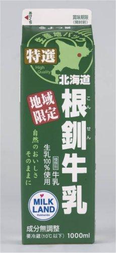 よつ葉北海道根釧牛乳 1リットル×6本