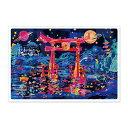 世界遺産アートポストカード 厳島神社/広島県 (1800103000021)