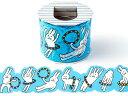 AIUEOマスキングテープ カタヌキ【maskingtape katanuki L】カクカク・もこもこの型抜きがかわいいマステ!大きめLサイズ うさぶーちゃんが...