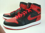 NIKE AIR JORDAN DMP 1 RETRO HIGH BLACK RED BULLS