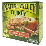 那衣叉儿排球苹果crunch (箱)252g[ネイチャーバレー アップルクランチ (ボックス) 252g]