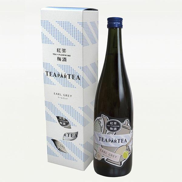 紅茶梅酒 TEA PARTEA 〈ティーパーティー) アールグレイ 720ml