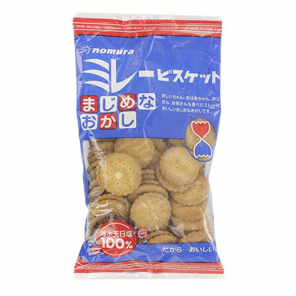 野村煎豆 まじめなおかし ミレービスケット (130g)