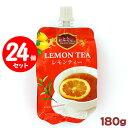 送料無料 セイウ 飲む紅茶ゼリー レモンティー 180g 24個セット