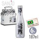 【送料無料】サンジョワインBARDOOバルドゥー187mlブラジル産シードル(4.5%甘口)【6本セット】