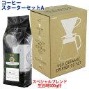 コーヒースターターセットA スペシャルBL 500g付 セット割引 送料無料