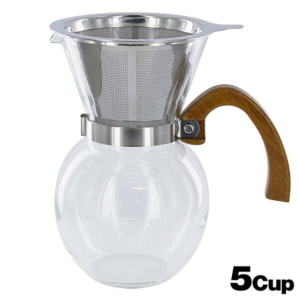 バンブーコーヒーサーバー 5cup 650ml ...の商品画像